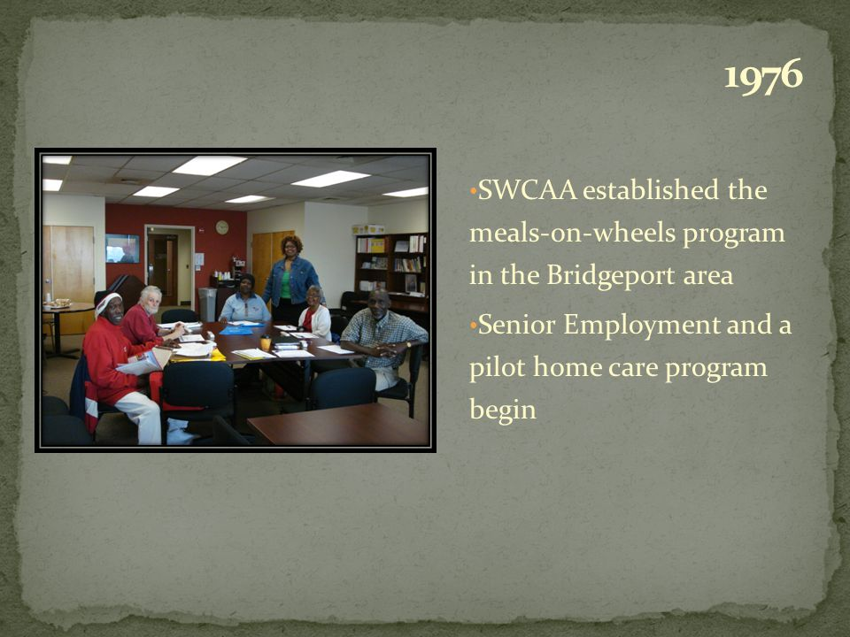 My heart of heart says this: SWCAA committed ongoing grants that hugely helps to fulfill the needs of diverse low income elderly and frail seniors indeed offers an Affirmation of Hope and Assurance for their Future Years.