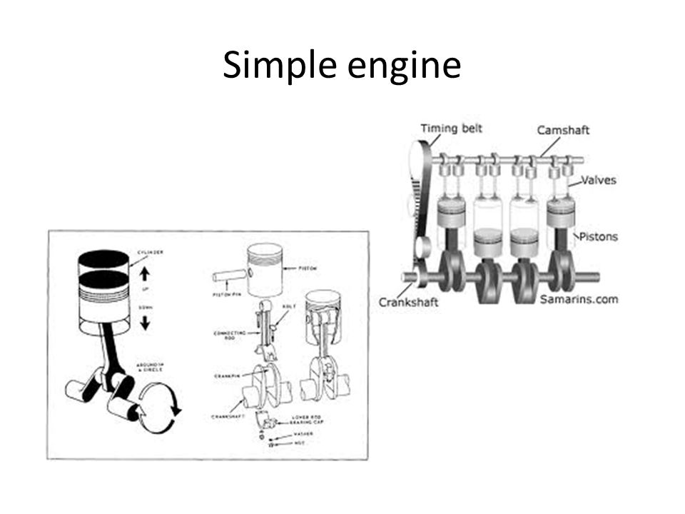 Simple engine