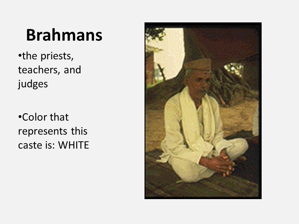 Kshatriyas He is a member of the caste Kshatriyas, which is right below the Brahmans.