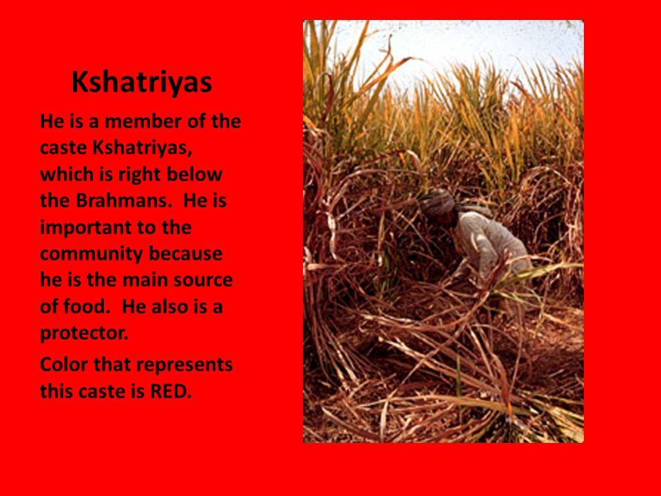 Vaisyas The Fruit Merchant is part of the Vaishya caste.