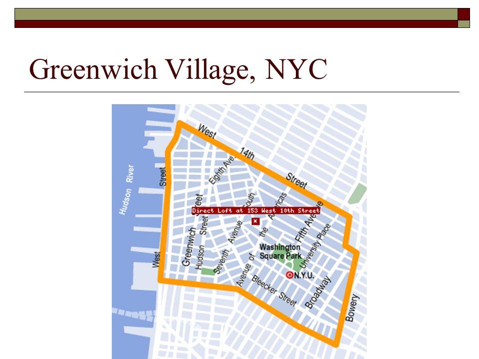 Greenwich Village, NYC