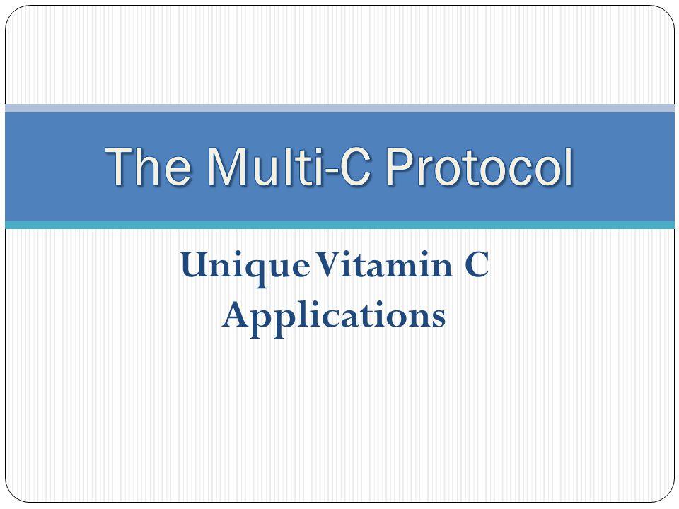 Unique Vitamin C Applications