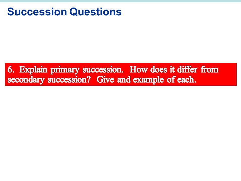 Succession Questions