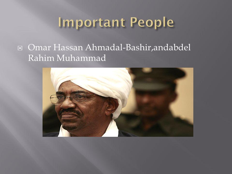  Omar Hassan Ahmadal-Bashir,andabdel Rahim Muhammad
