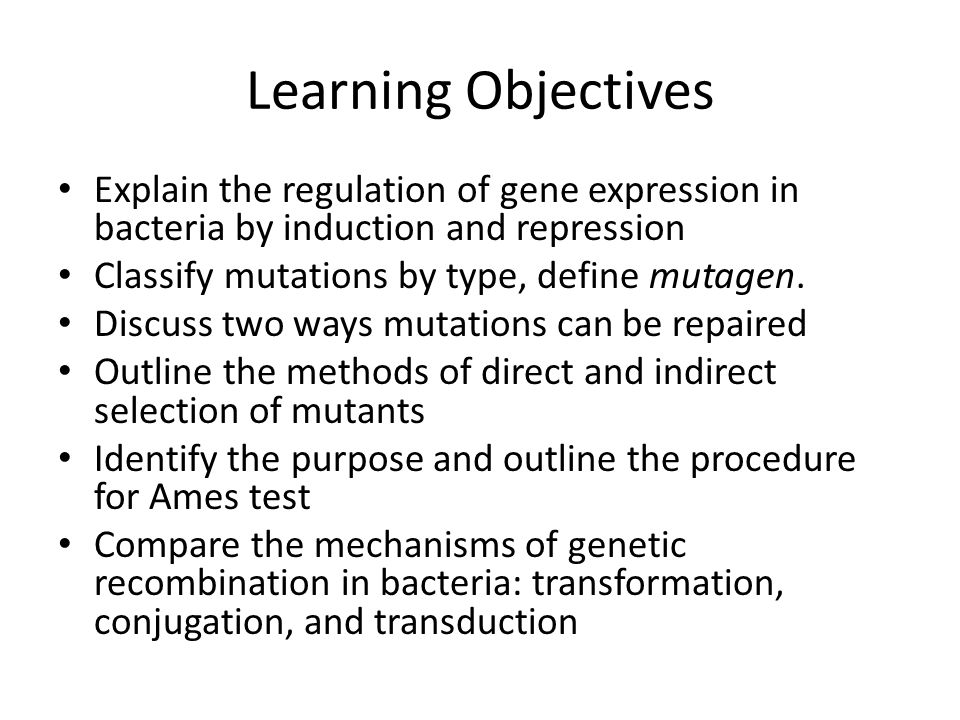 Regulation of Bacterial Gene Expression Constitutive enzymes are expressed at a fixed rate (i.e, they are on all the time) Other enzymes are expressed only as needed.