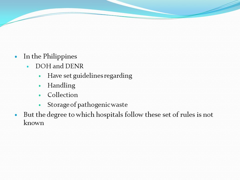 Review of Related Literature Evidence showed that there are many flaws in the compliance, implementation and even in the construction of guidelines concerning hospital management in the Philippines and around the world Several studies have recommended several steps that may be undertaken to address these flaws