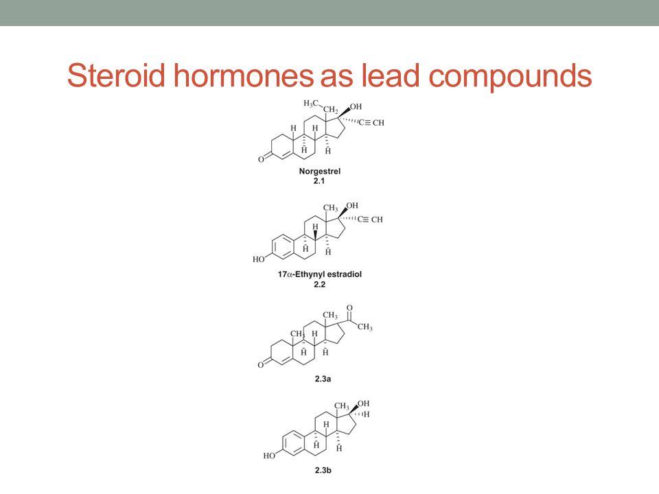 Peptide hormones as lead compounds