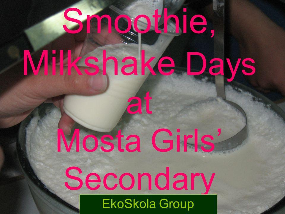 Smoothie, Milkshake Days at Mosta Girls' Secondary EkoSkola Group