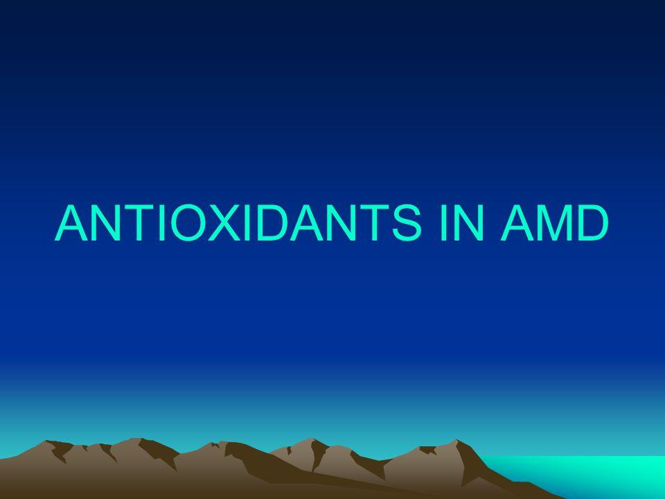 ANTIOXIDANTS IN AMD