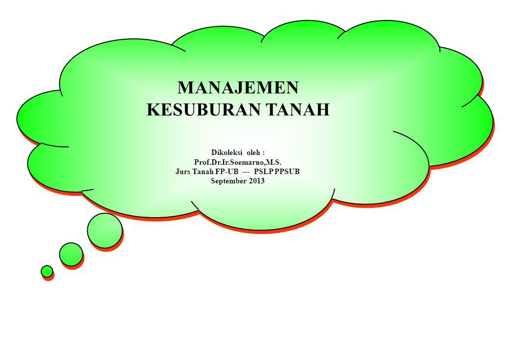 PENGELOLAAN PUPUK KANDANG UNT MEREDUKSI KEHILANGAN P Manure is an excellent source of P for crop production.