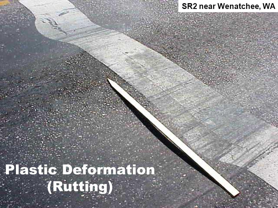 Plastic Deformation (Rutting) SR2 near Wenatchee, WA