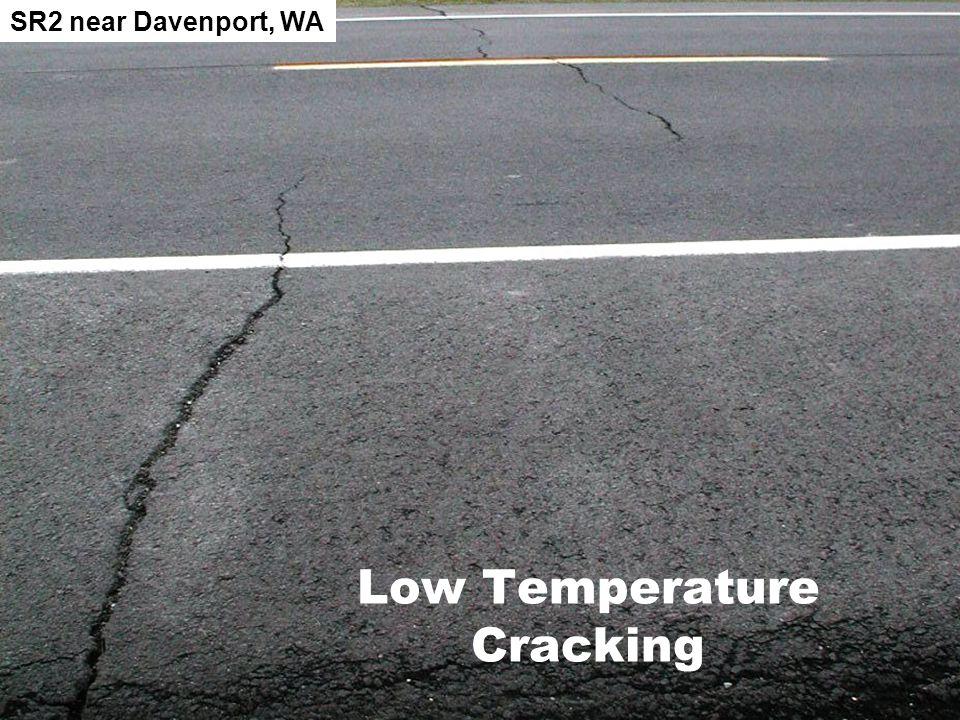 Low Temperature Cracking SR2 near Davenport, WA