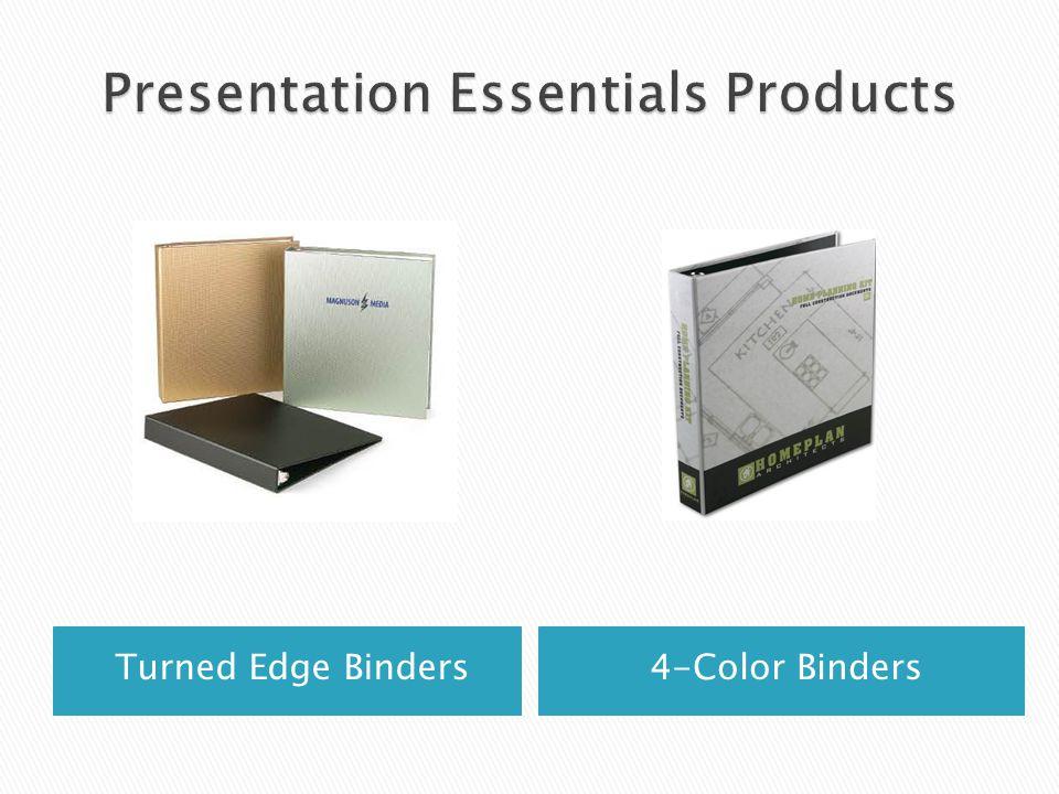 Turned Edge Binders4-Color Binders
