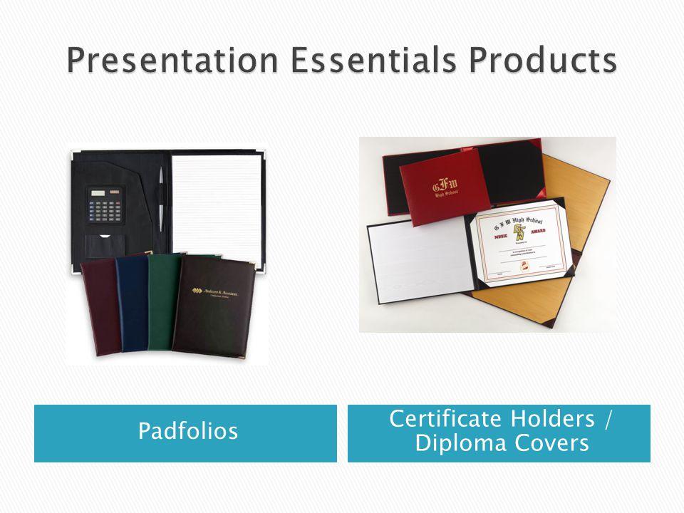 Padfolios Certificate Holders / Diploma Covers