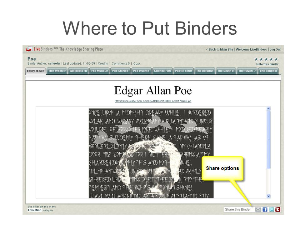 Where to Put Binders