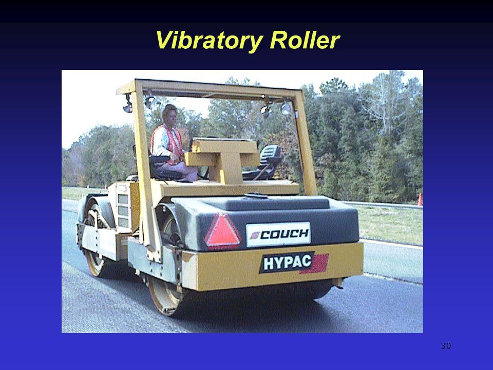30 Vibratory Roller