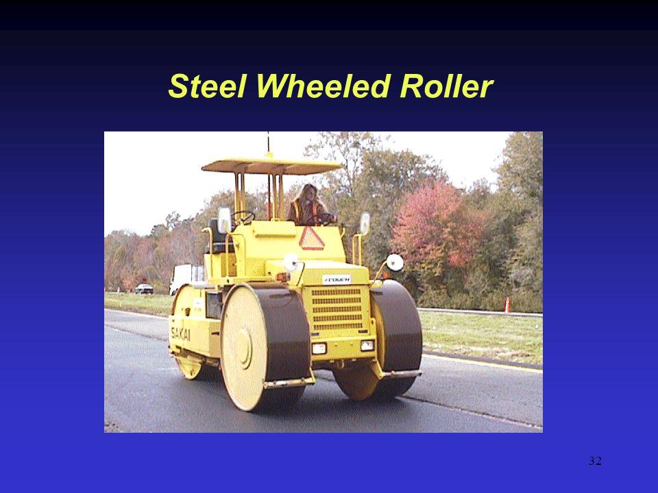 32 Steel Wheeled Roller