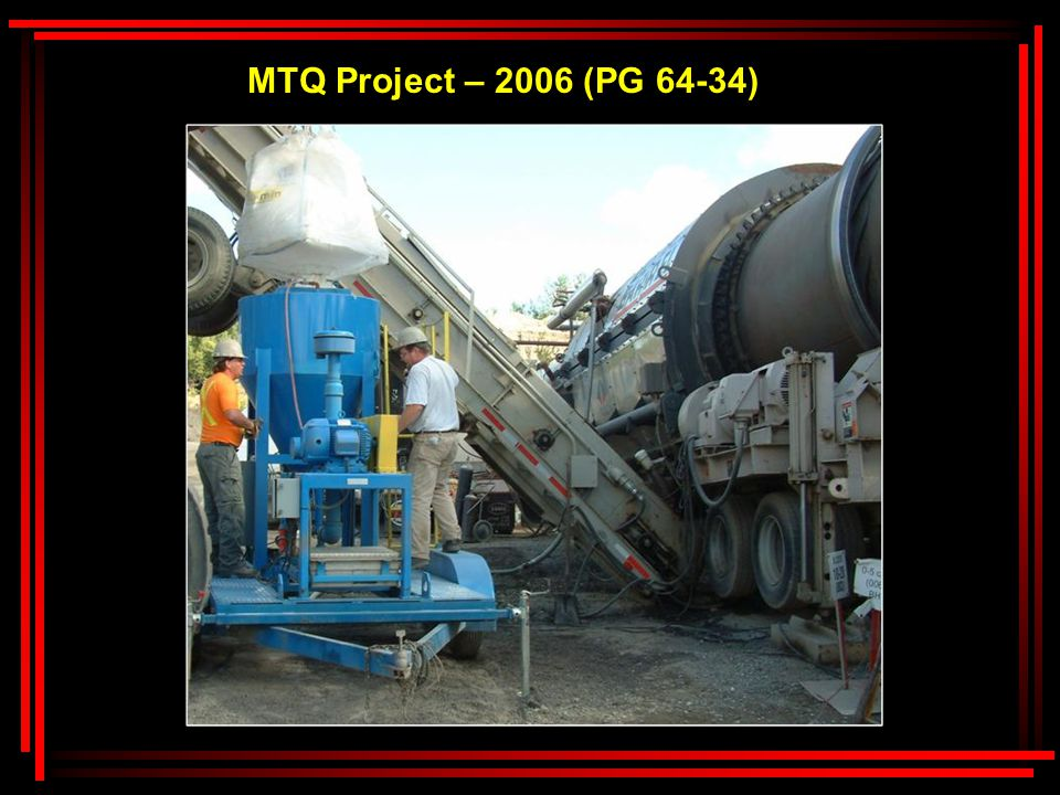 MTQ Project – 2006 (PG 64-34)