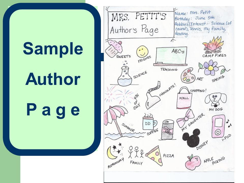 Sample Author P a g e