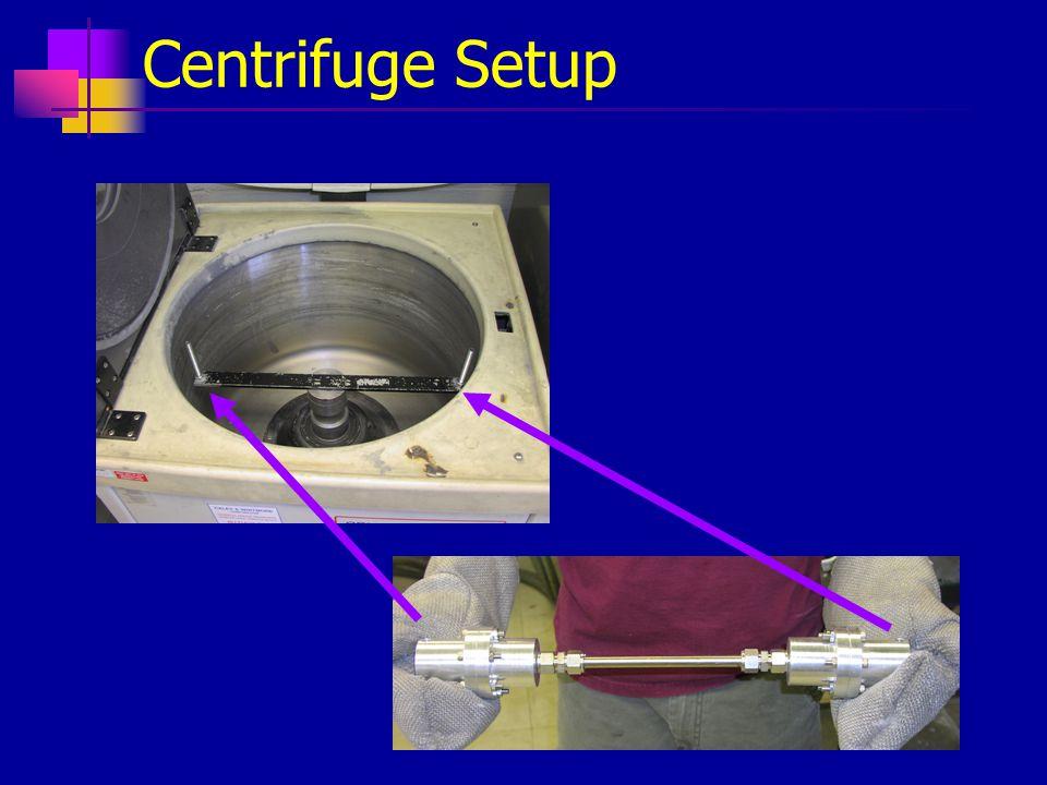 Centrifuge Setup