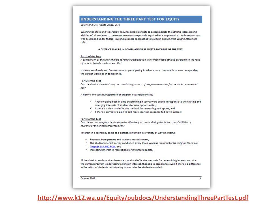 http://www.k12.wa.us/Equity/pubdocs/UnderstandingThreePartTest.pdf