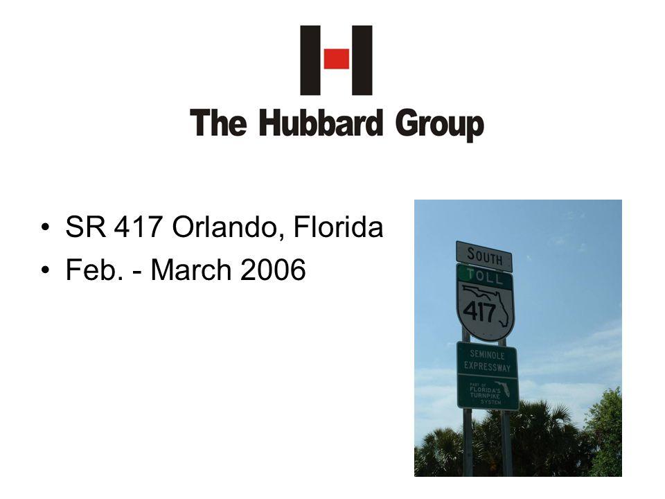 SR 417 Orlando, Florida Feb. - March 2006