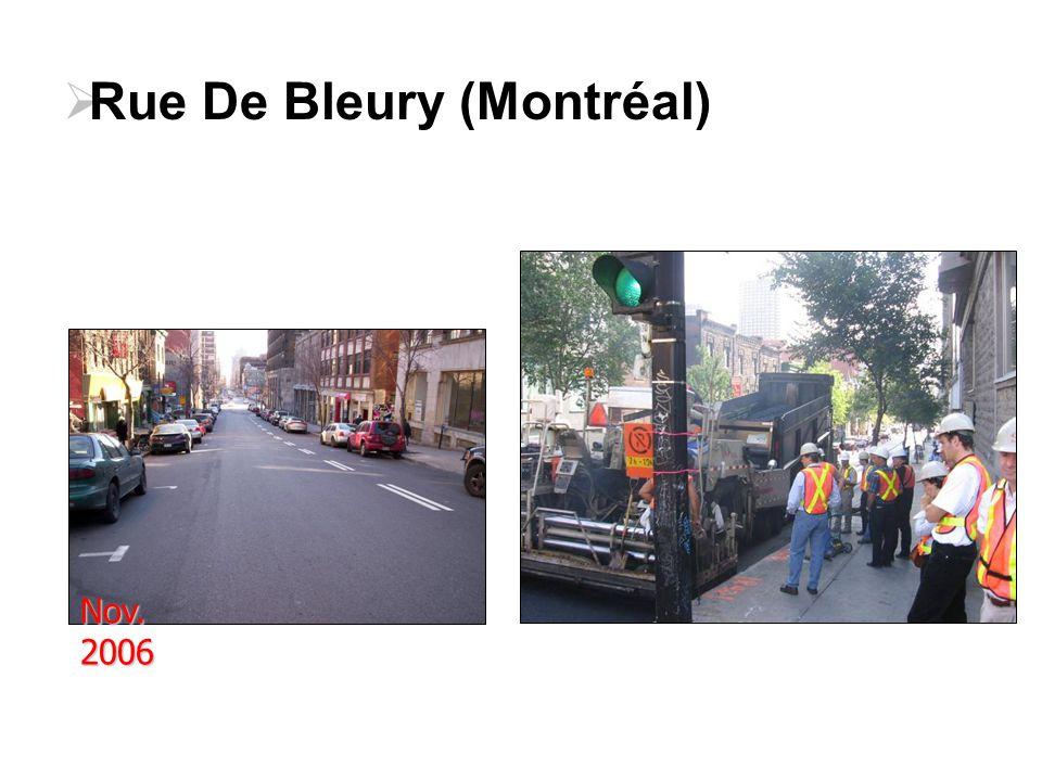 Nov. 2006  Rue De Bleury (Montréal)