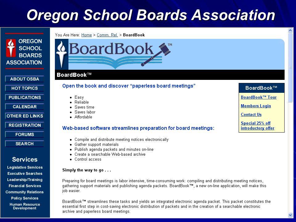 Oregon School Boards Association