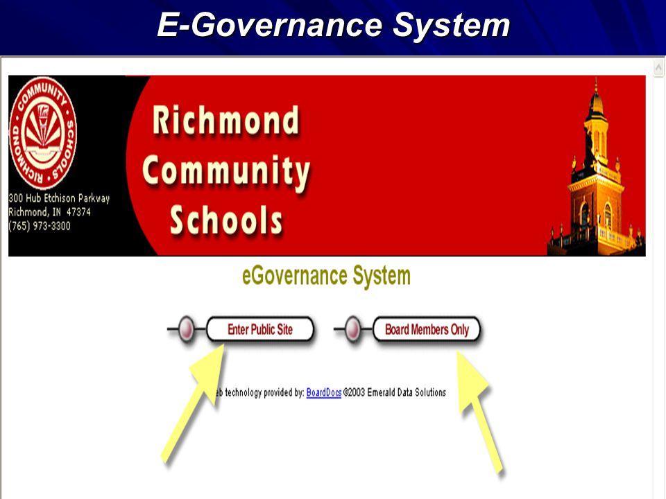 E-Governance System