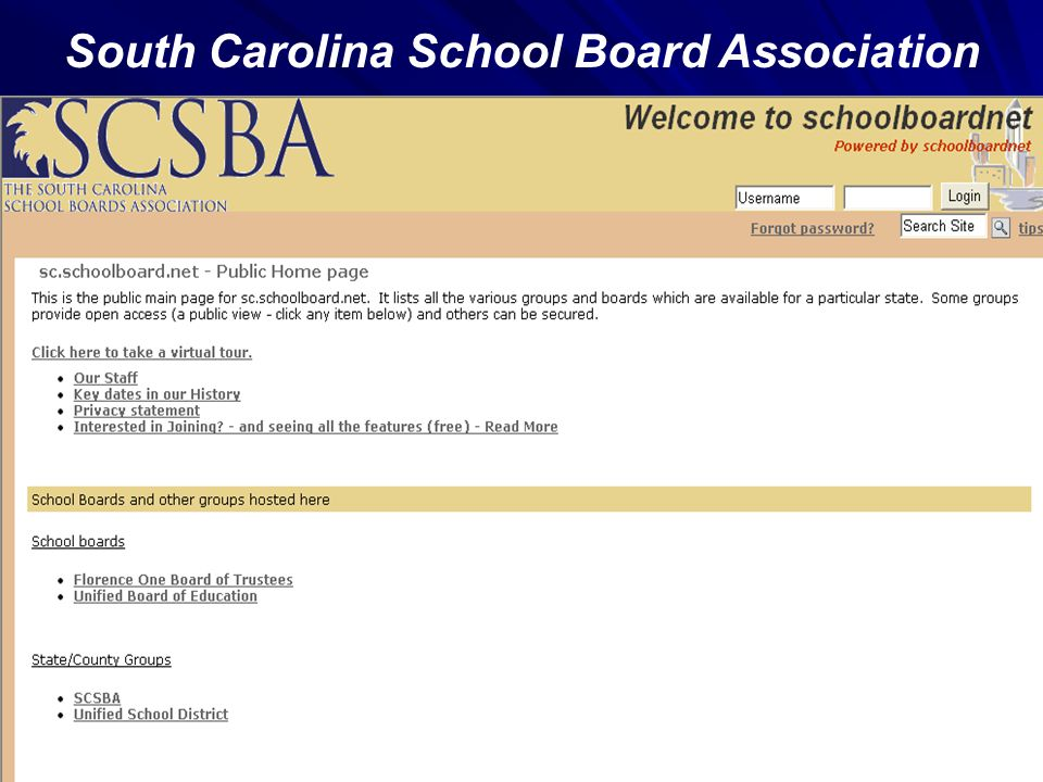 South Carolina School Board Association