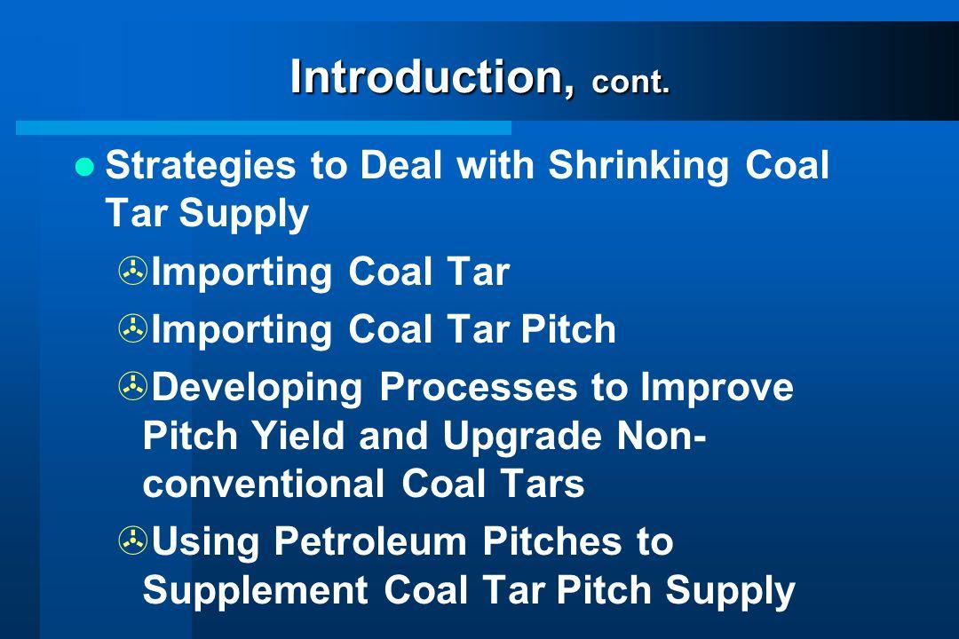Coal Tar and Petroleum Supplies