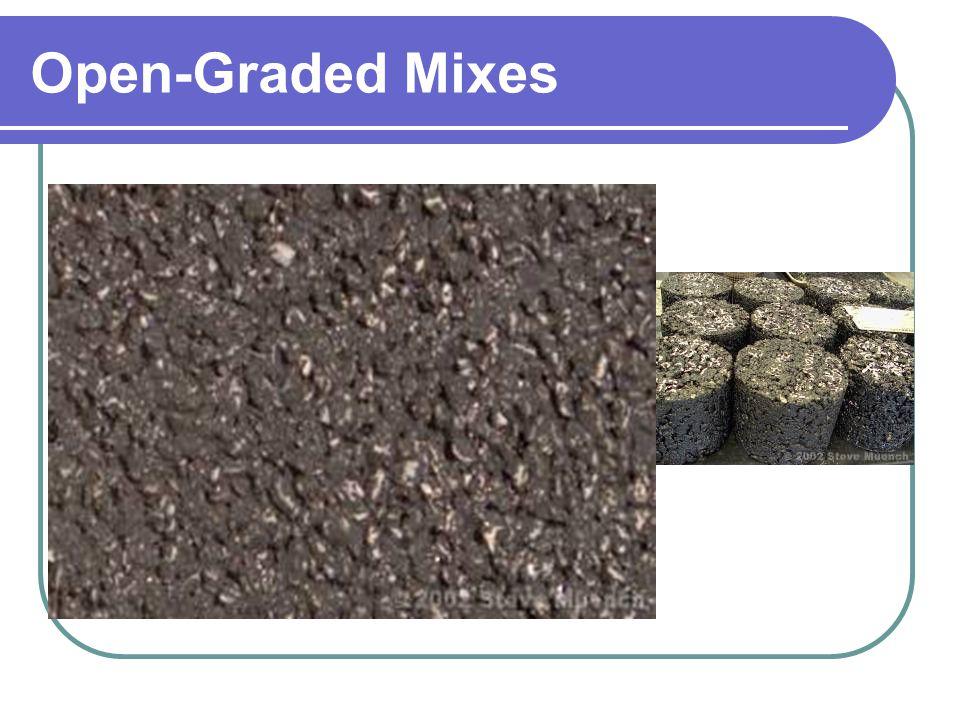 Open-Graded Mixes