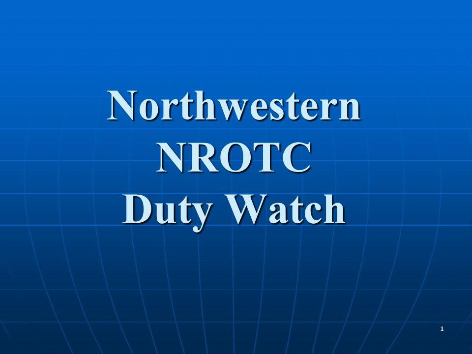 1 Northwestern NROTC Duty Watch