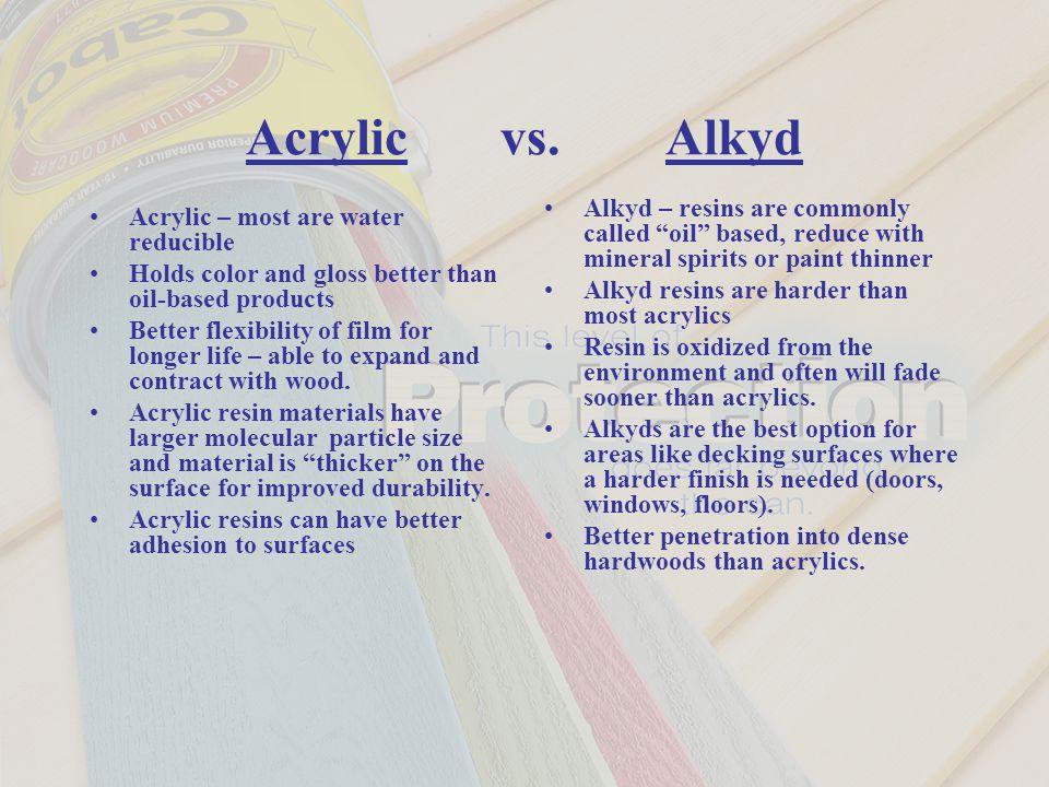 Acrylic vs.