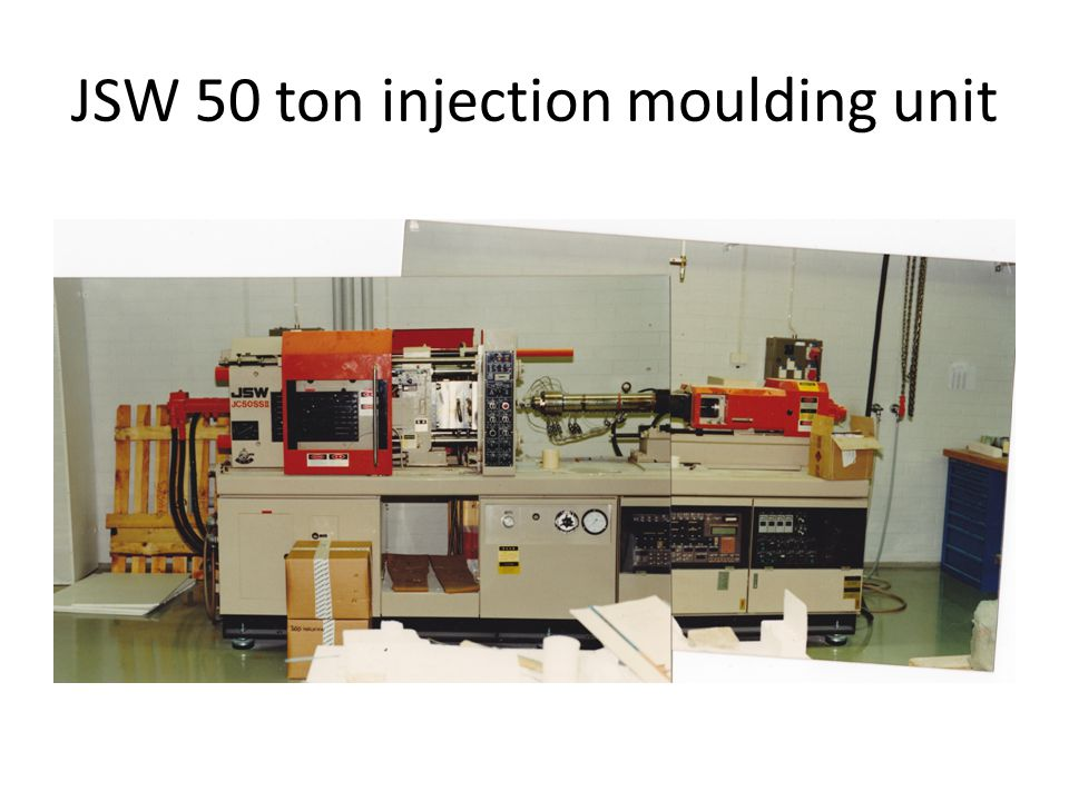 JSW 50 ton injection moulding unit