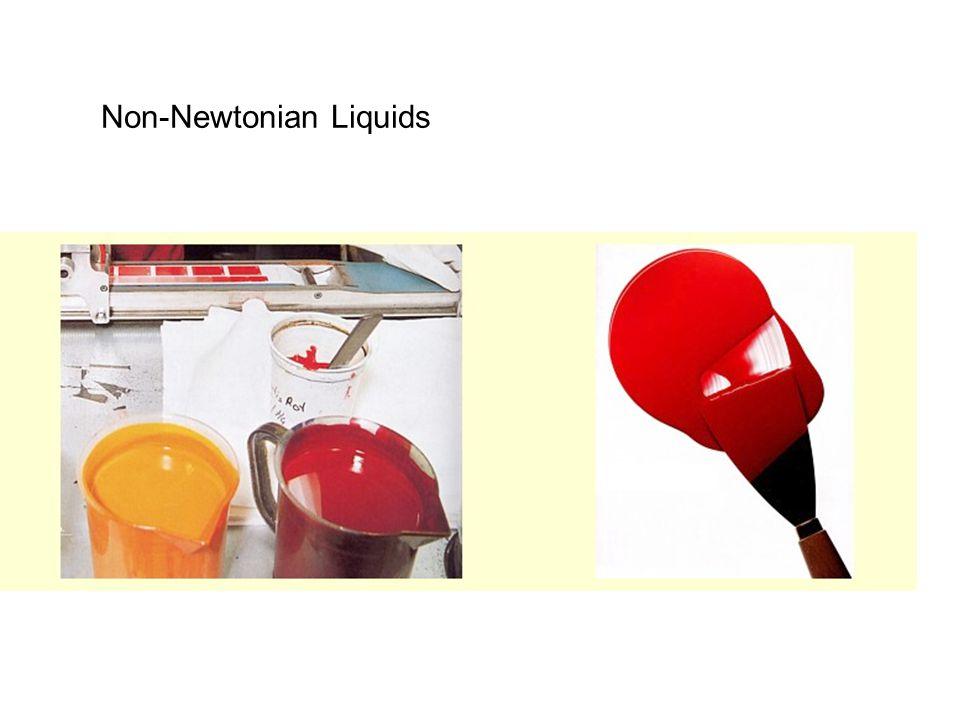 Non-Newtonian Liquids