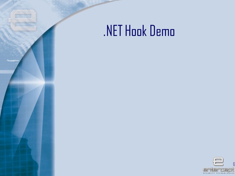 67.NET Hook Demo