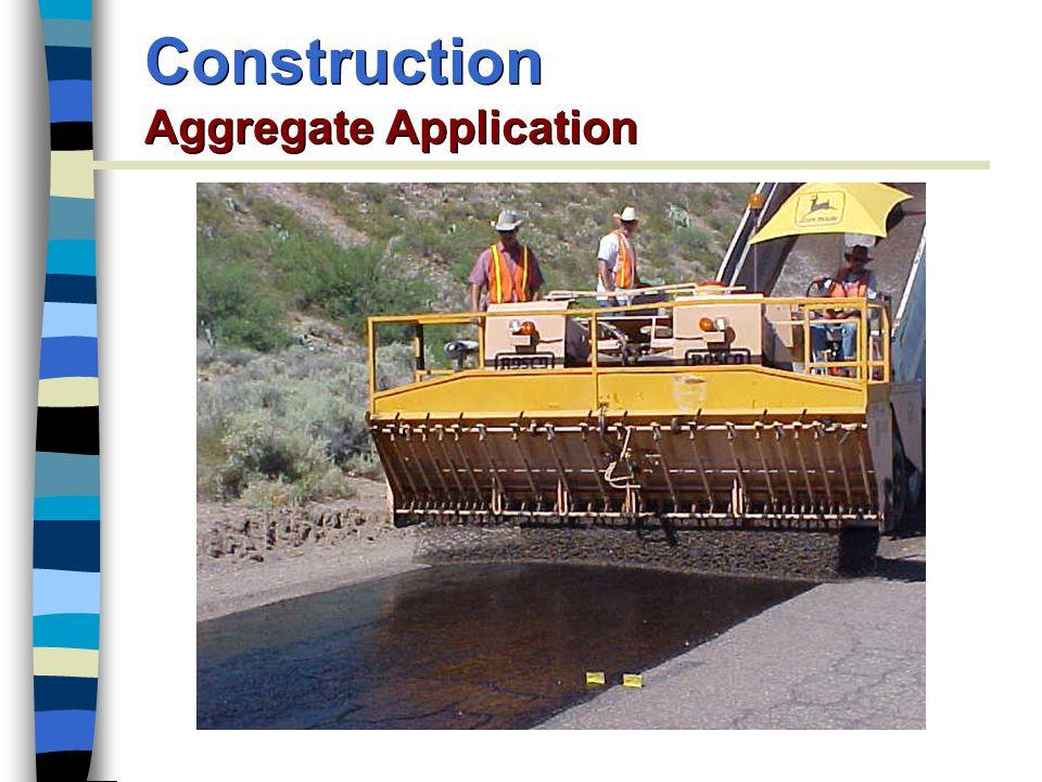 Construction Aggregate Application