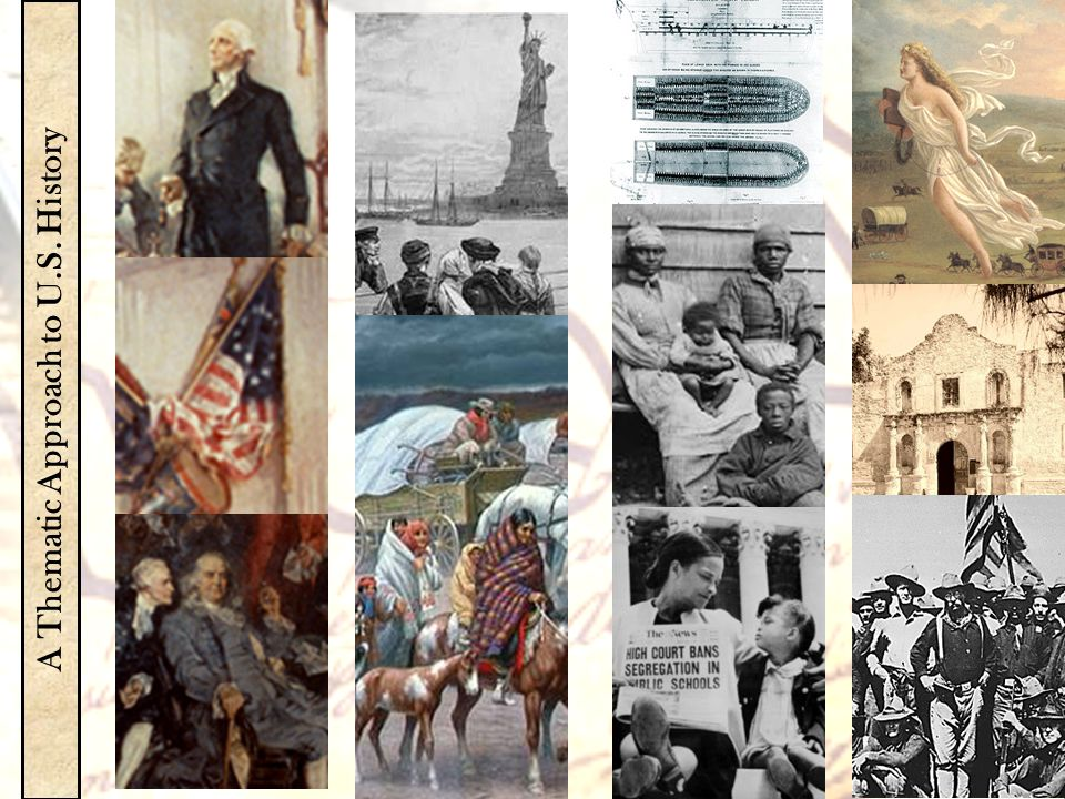 A Thematic Approach to U.S. History