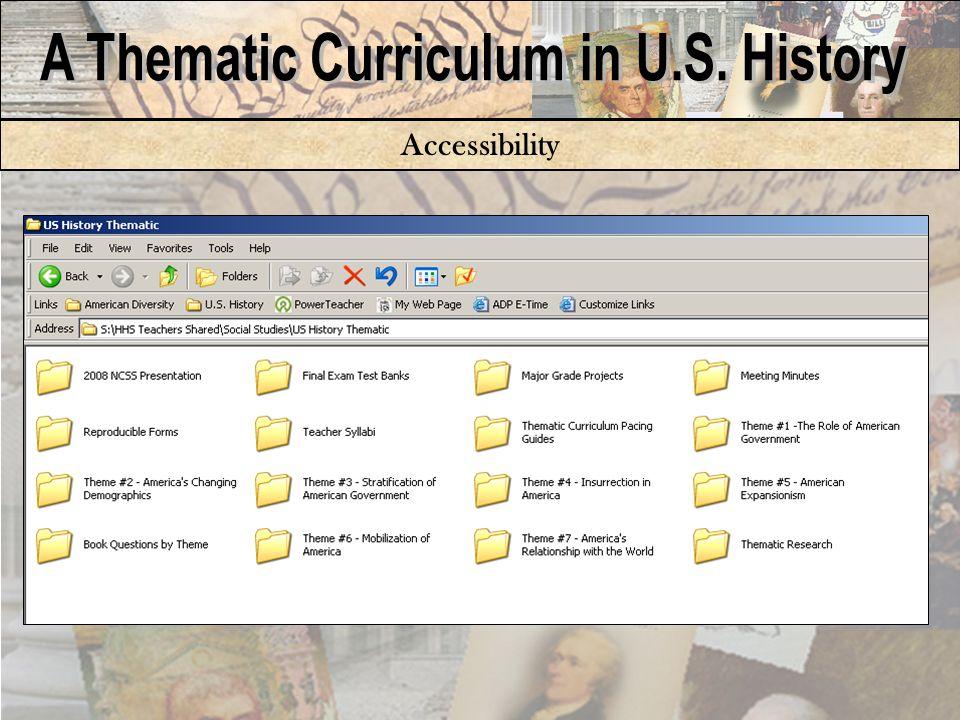 Student Resources: Binder Content Sheet