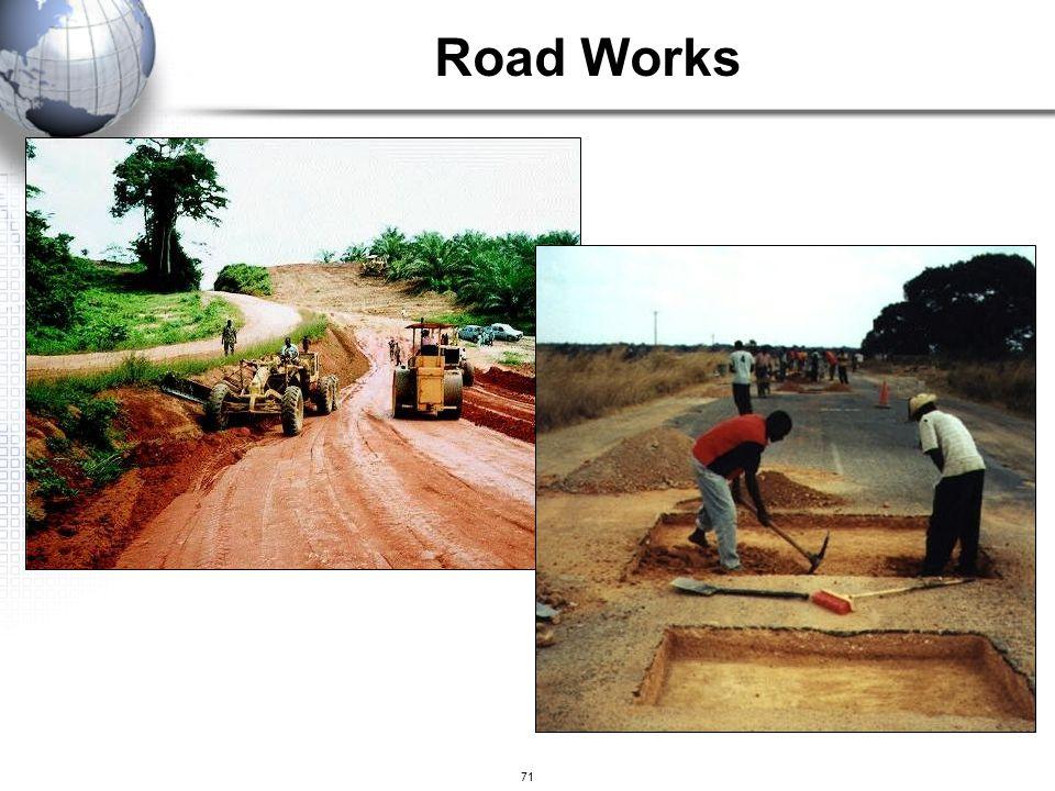 71 Road Works