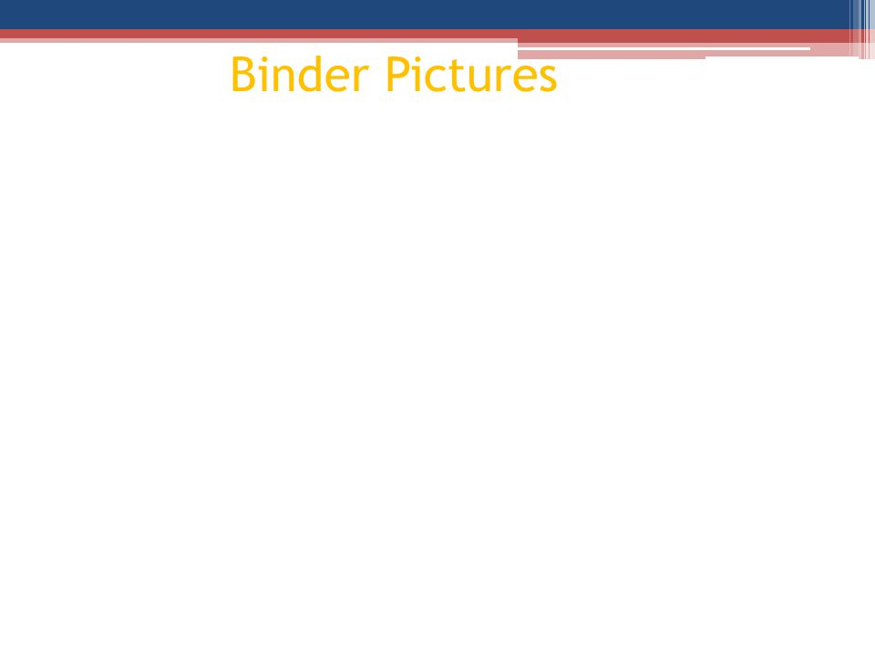 Binder Pictures