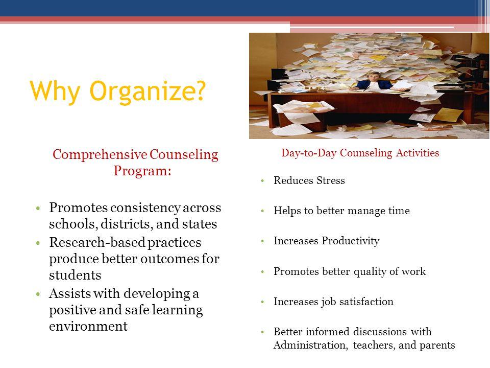 Why Organize.