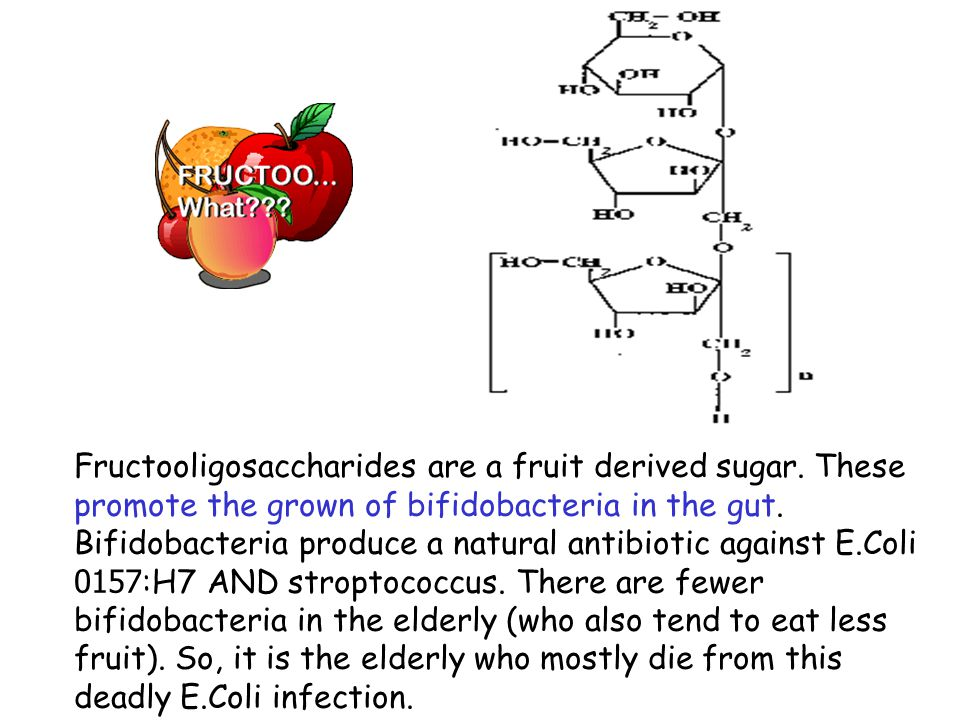 Fructooligosaccharides are a fruit derived sugar.