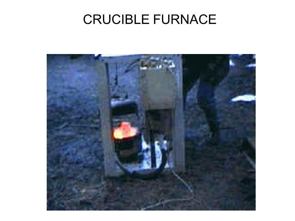 CRUCIBLE FURNACE
