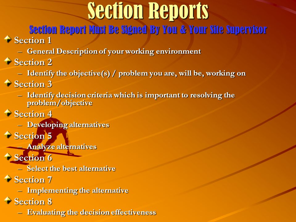 Final Reports Final Reports should contain all appropriate sections with a cover page indicating your name, the name of the host organization, date of submission, and any other pertinent information.