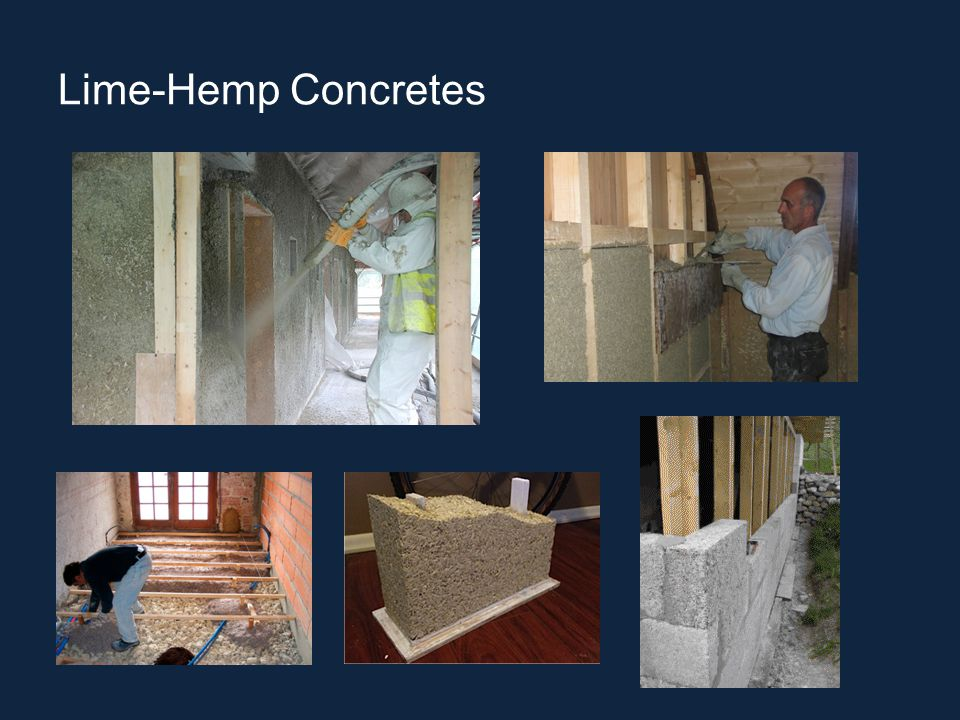Lime-Hemp Concretes