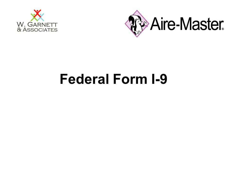 Federal Form I-9