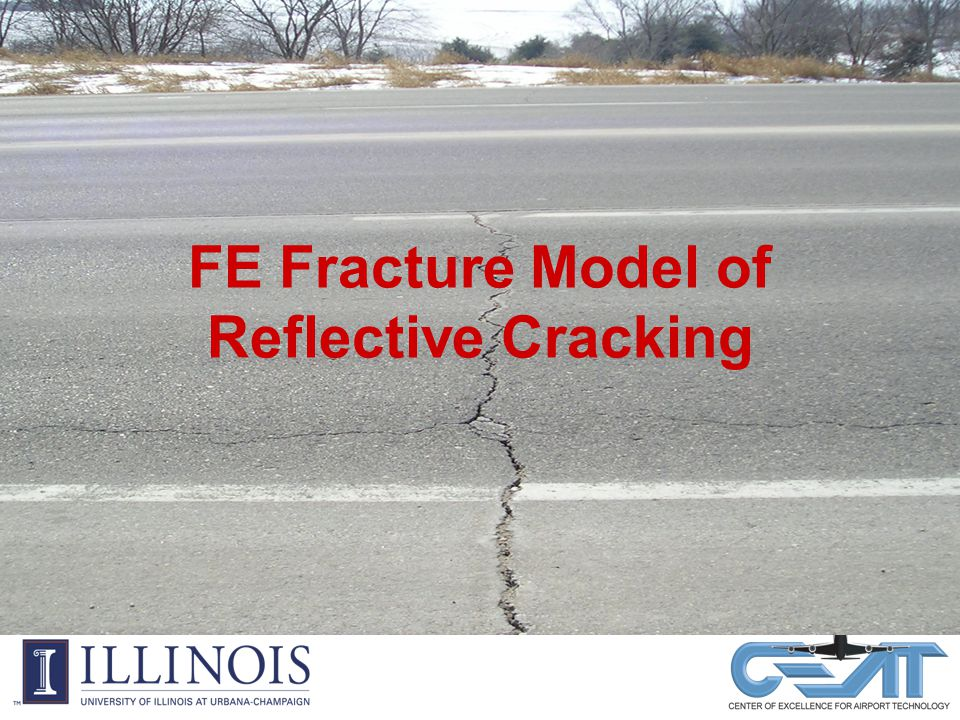 FE Fracture Model of Reflective Cracking