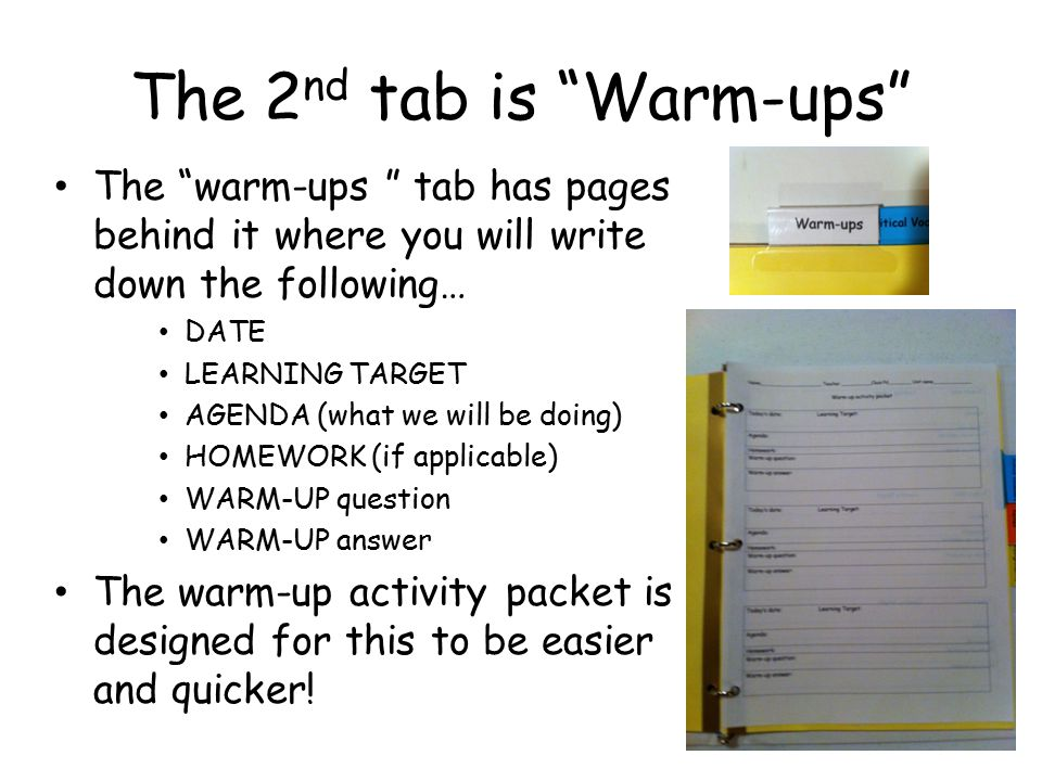The 3 rd tab is Critical Vocabulary The Critical Vocabulary tab has pages behind it where you will write down the words that are needed to understand the Science we are studying.